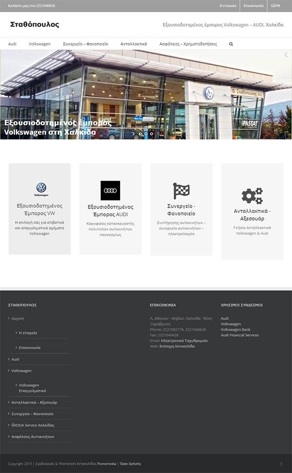 Φ. Σταθόπουλος Volkswagen – AUDI, Χαλκίδα