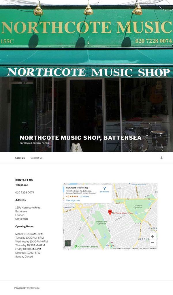 Northcote Music Shop