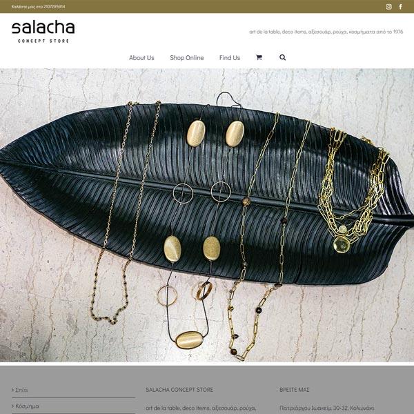 E-Shop Salacha - Είδη Σπιτιού - Κόσμημα